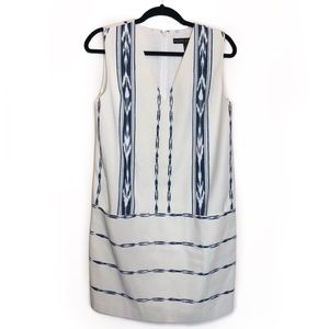 Ralph Lauren Black Label Shibori Ikat Blue Dress